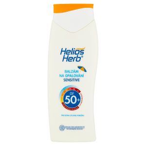 Helios Herb Balzám na opalování Sensitive OF 50+ 200ml
