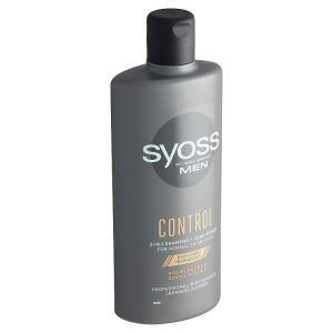 Syoss MEN Control 2v1 šampon a balzám pro muže s normálními až suchými vlasy 440ml
