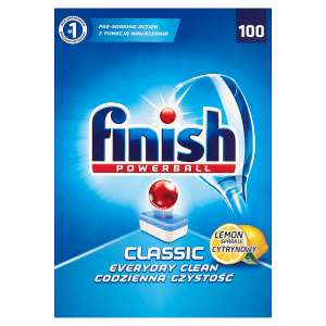Finish Powerball Classic lemon tablety do myčky nádobí 100 ks 1810g