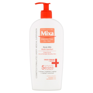 Mixa Intensive Care Dry Skin Multi-Comfort tělové mléko s Cold Cream 400ml
