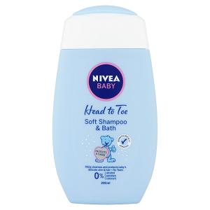 Nivea Baby Jemná koupel pro celé tělo & šampon 200ml