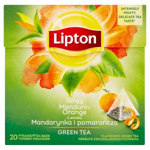 Lipton Green tea mandarin orange 20 sáčků 36g