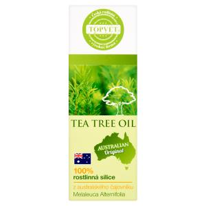 Topvet 100% rostlinná silice z australského čajovníku 10ml