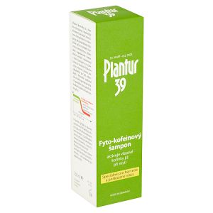 Plantur 39 Fyto-kofeinový šampon speciálně pro barvené a poškozené vlasy 250ml