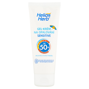 Helios Herb Gel-krém na opalování Sensitive OF 50+ 75ml