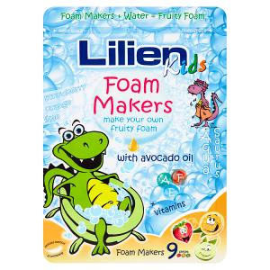 Lilien Kids Pěnové kapsle do koupele limetka, pomeranč, jahoda 9 x 35g