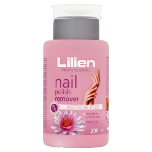 Lilien Professional Odlakovač na nehty bez acetonu 200ml