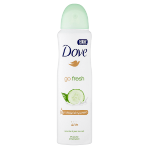 Dove Go Fresh Cucumber & Green Tea antiperspirant sprej 150ml