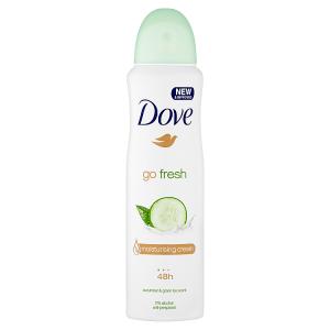 Dove Go Fresh Cucumber & Green Tea antiperspirant sprej 150ml