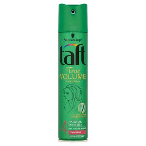 Taft True Volume lak na vlasy Ultra Strong 4 250ml