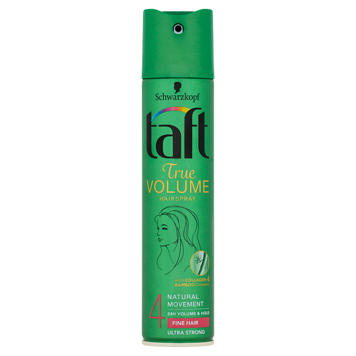 Taft True Volume lak na vlasy Ultra Strong 4 250ml