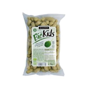Bio kids kukuřičné křupky 55g špenát