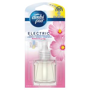 Ambi Pur Elektrický Osvěžovač Vzduchu SNáhradní Náplní Ambi Pur Flowers & Spring, 20ml