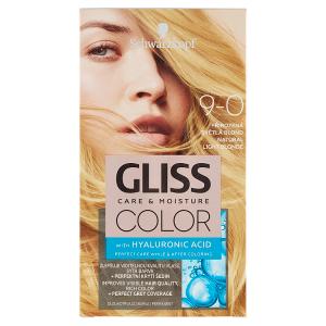 Schwarzkopf Gliss Color barva na vlasy Přirozená Světlá Blond 9-0
